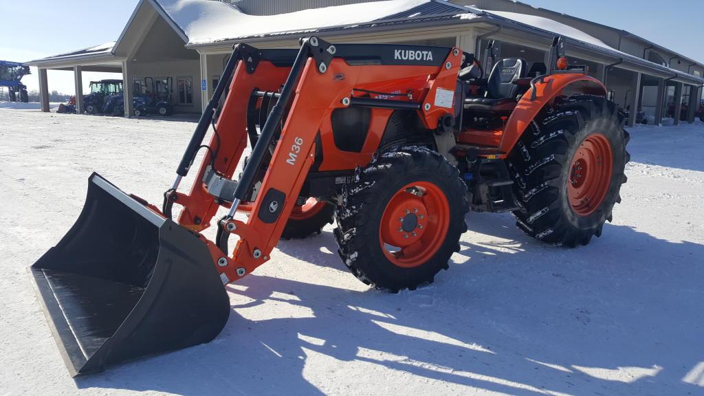 2016 Kubota M5.091 - Tractor