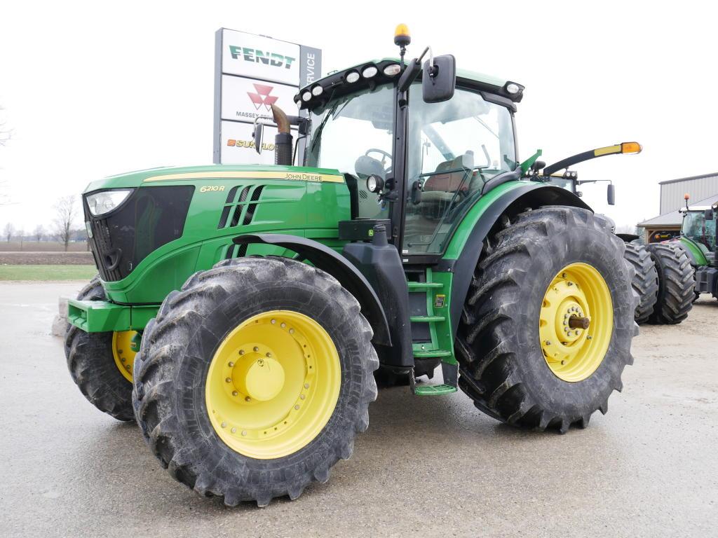 2012 John Deere 6210R - Tractor