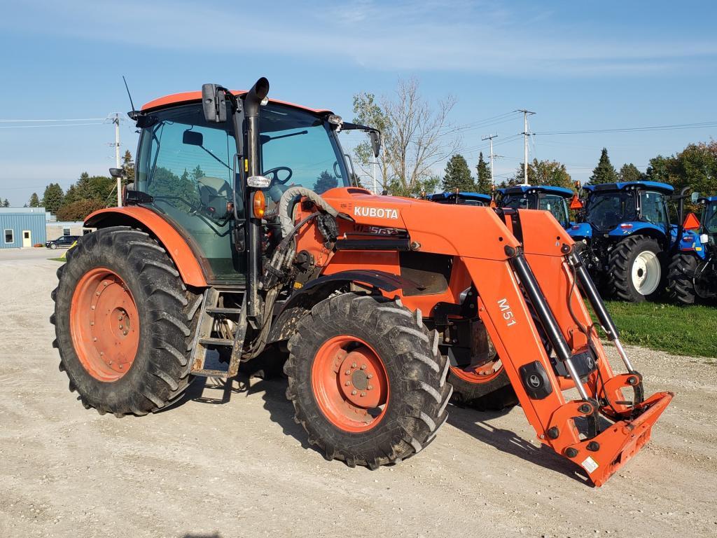 2013 Kubota M135 - Tractor
