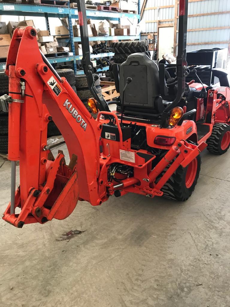 2016 Kubota BX25D-1 - Tractor Loader Backhoe
