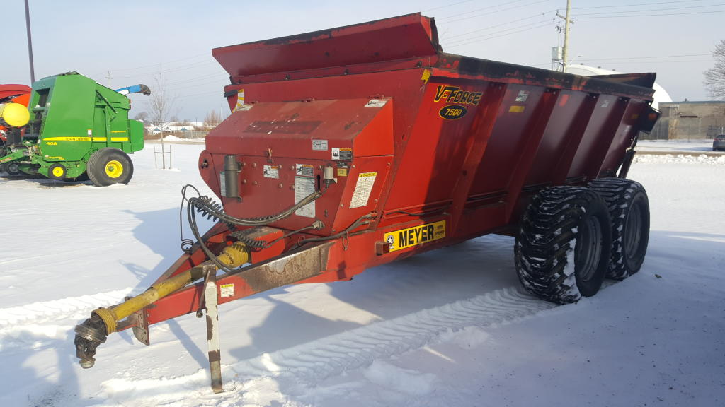 Meyers 7500 - Spreader - Dry Manure