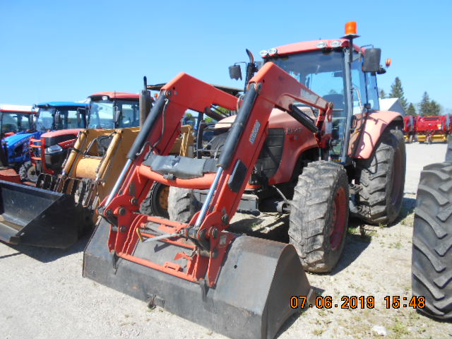 2009 Kubota M108XDTC - Tractor