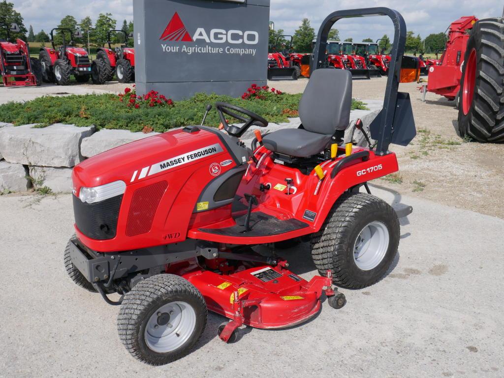 2016 Massey Ferguson GC1705 - Tractor