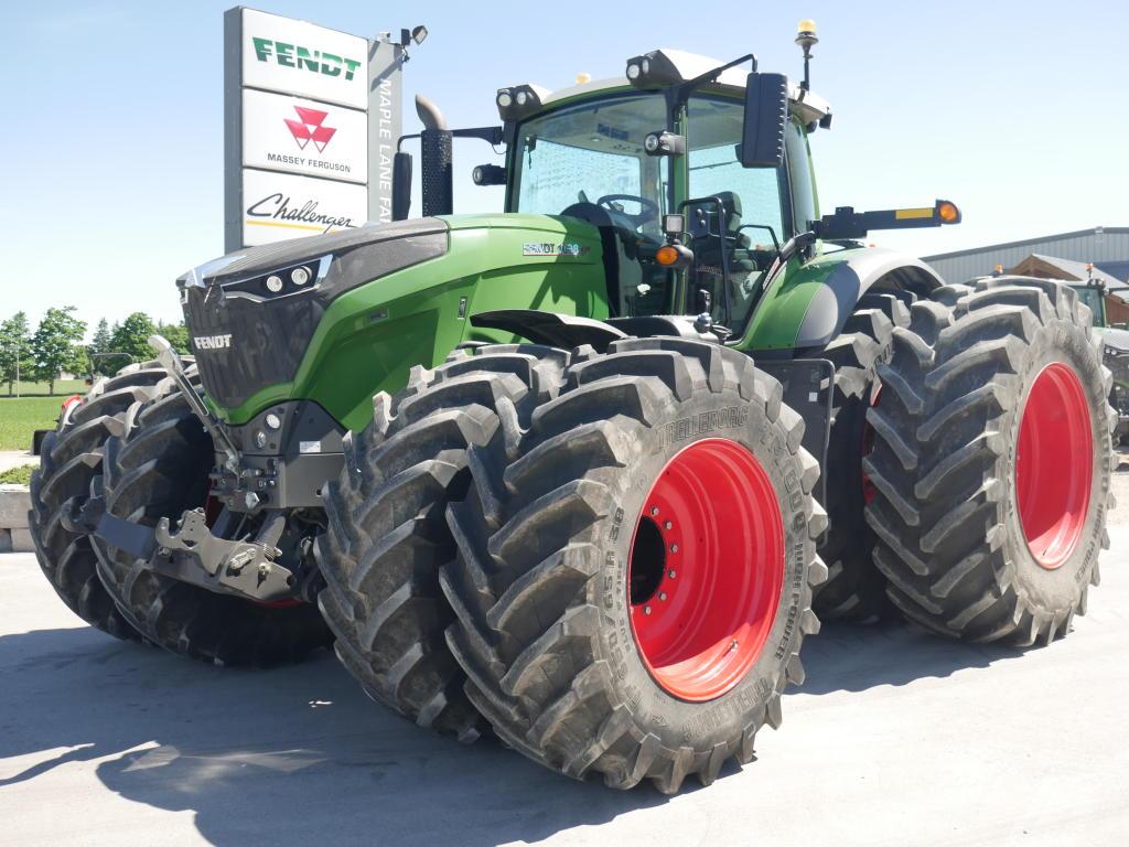 2018 Fendt 1038 - Tractor