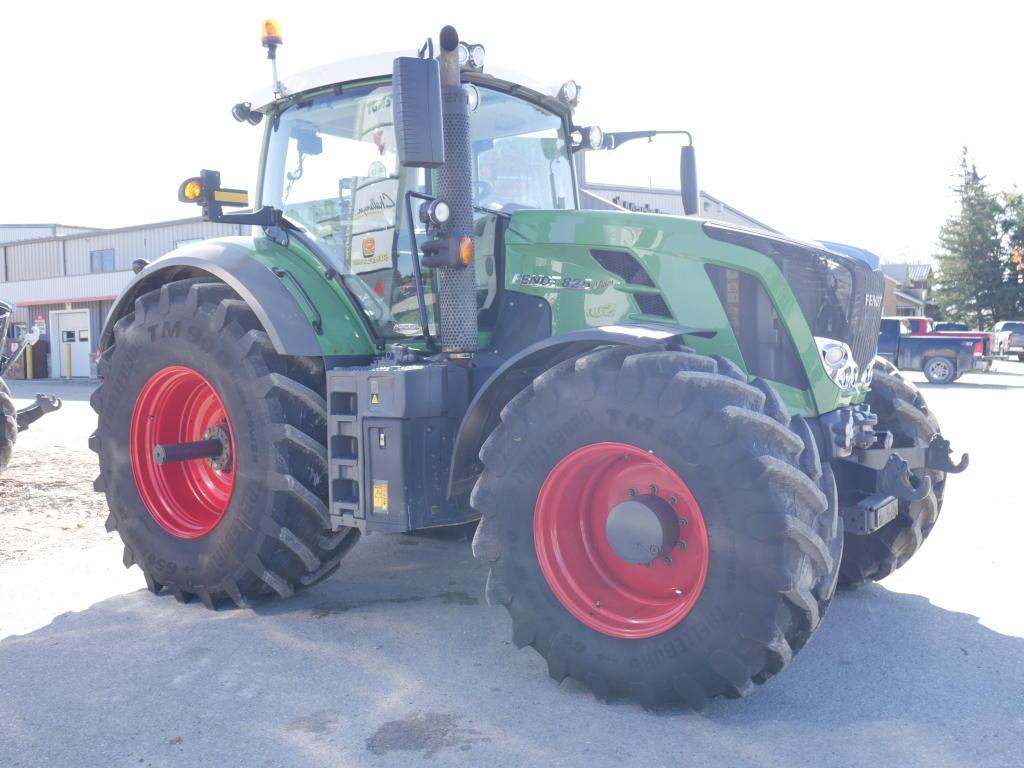 2013 Fendt 826 - Tractor Image 3