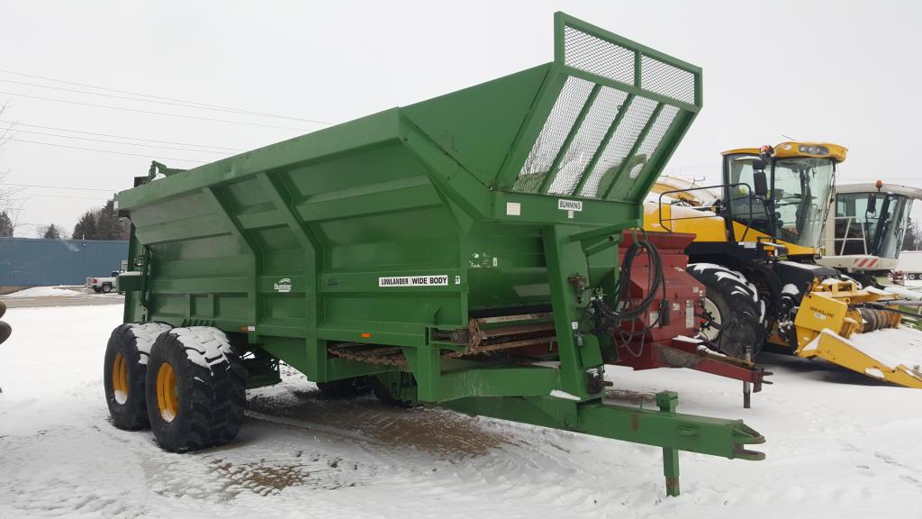 Bunning 230 - Spreader - Dry Manure