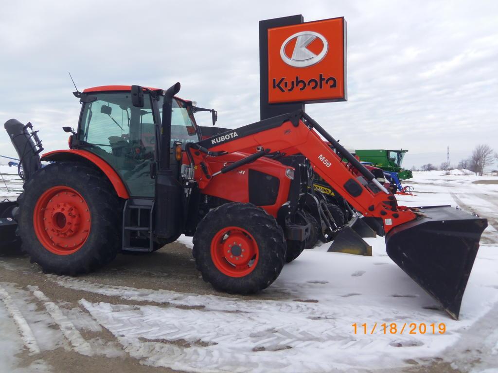 2017 Kubota M6-141 - Tractor