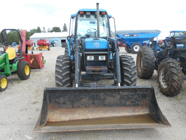 Ford 7740 SLE - Tractor