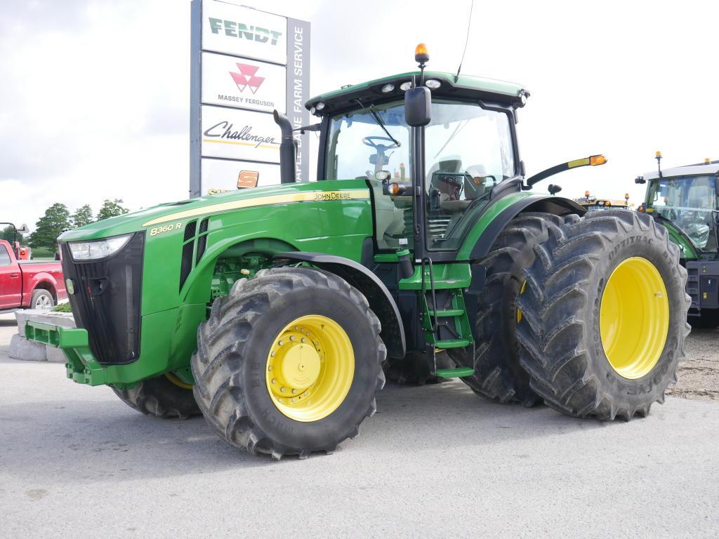 2013 John Deere 8360R - Tractor