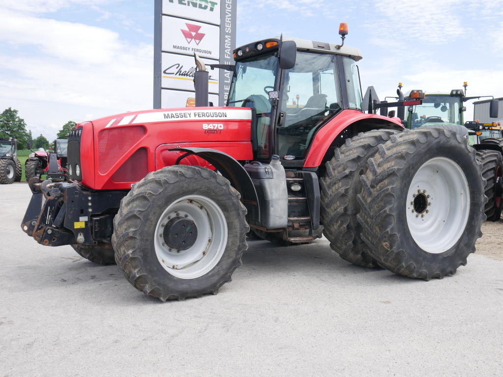 2008 Massey Ferguson 8470 - Tractor