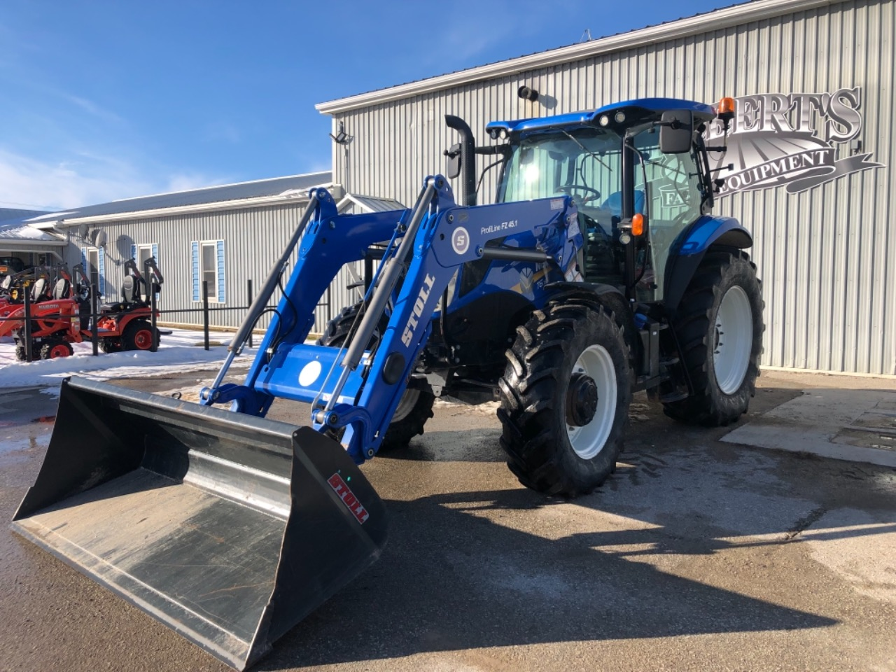 2015 New Holland T6.155 - Tractor