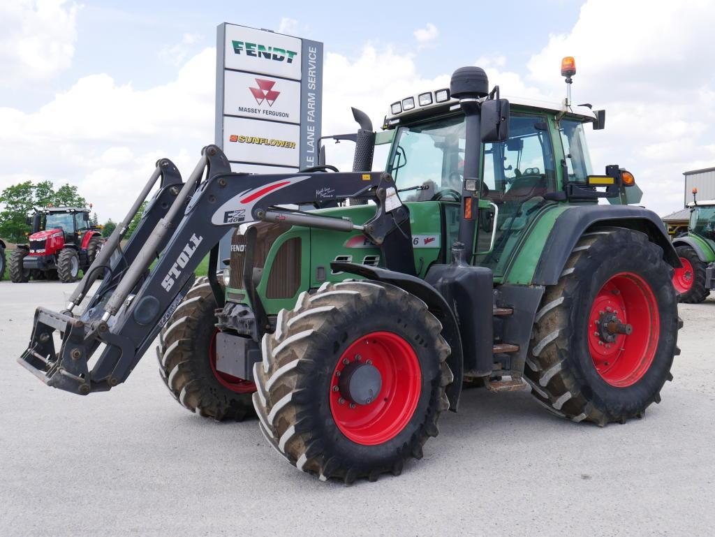 2010 Fendt 716 - Tractor