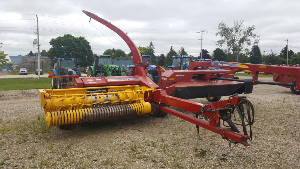 2015 New Holland FP 240 - Harvester - Pull Type
