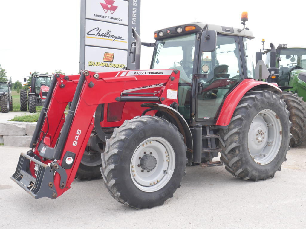 2009 Massey Ferguson 5460 - Tractor