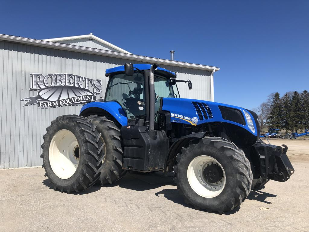New Holland T8.300 - Tractor