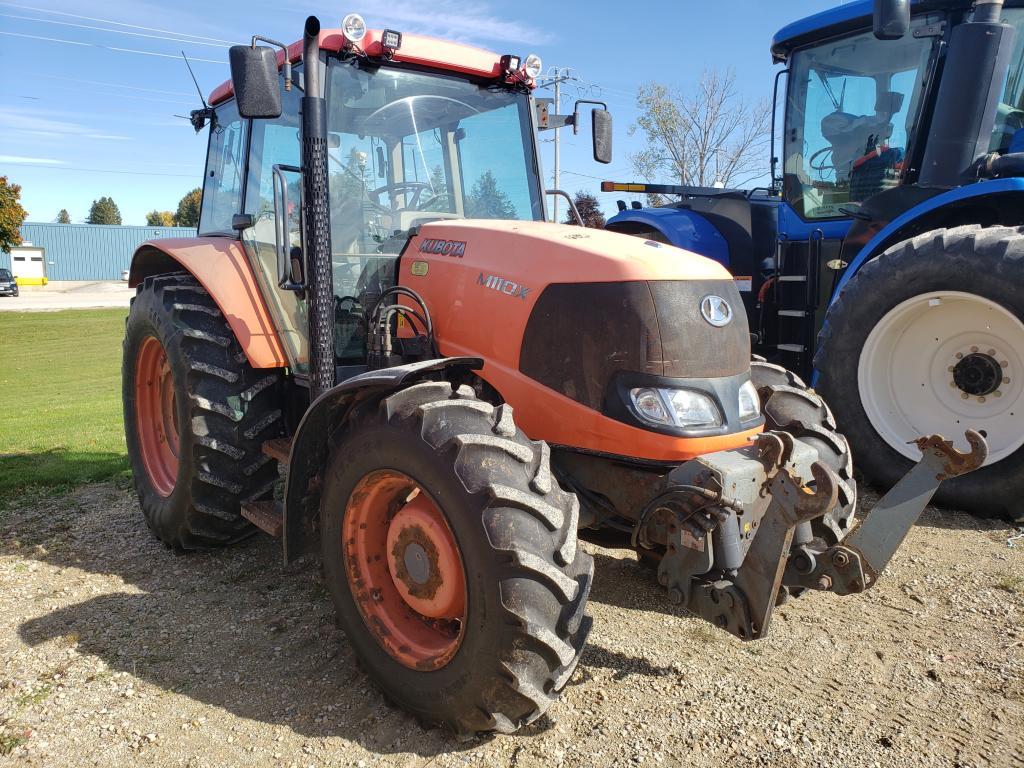 2010 Kubota M110X - Tractor