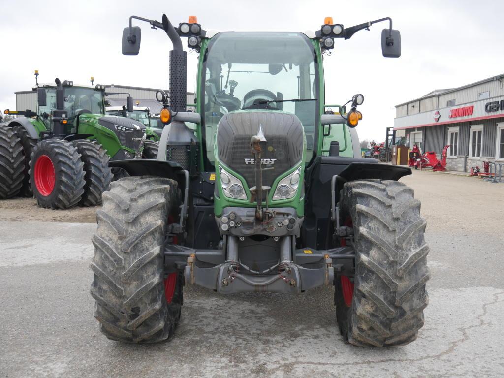 2014 Fendt 714 - Tractor