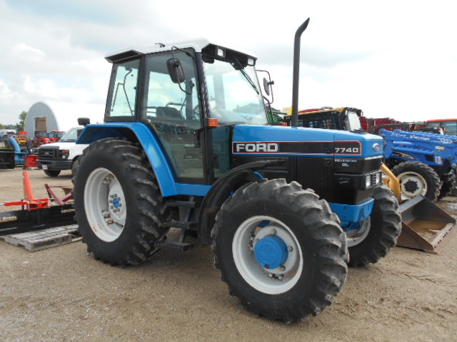 Ford 7740-SL - Tractor