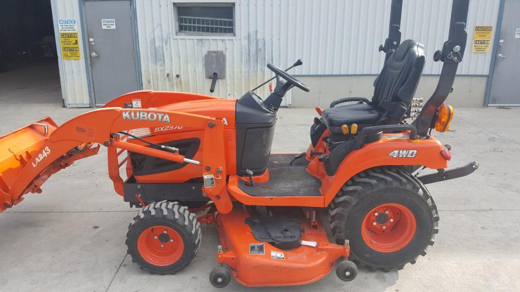 2013 Kubota BX2370 - Compact Tractor