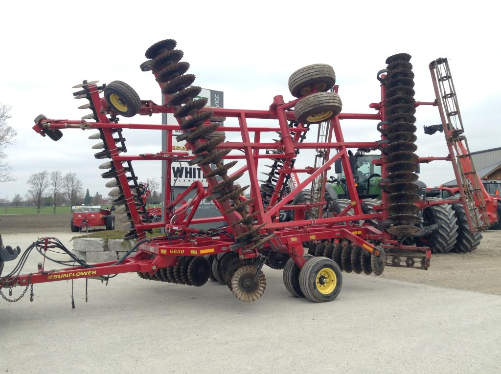 2012 Sunflower 6630-32 - Vertical Tillage