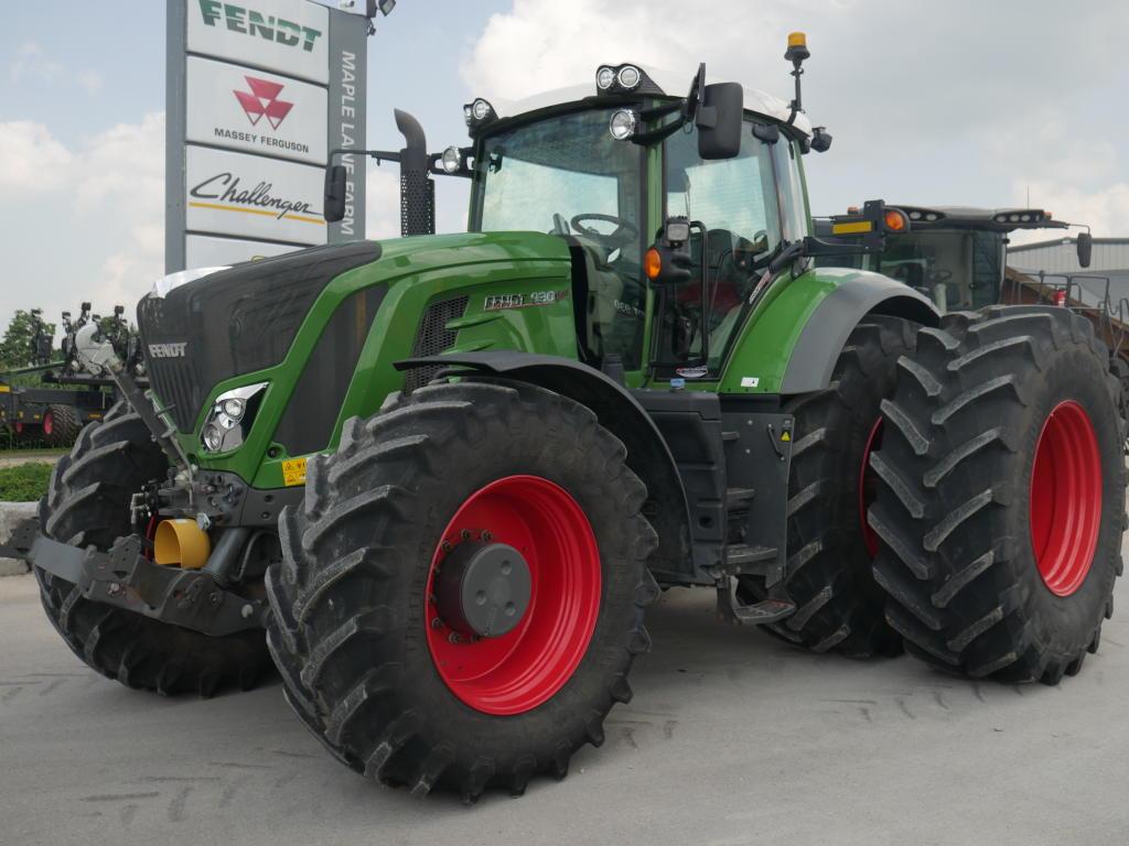 2018 Fendt 930 - Tractor