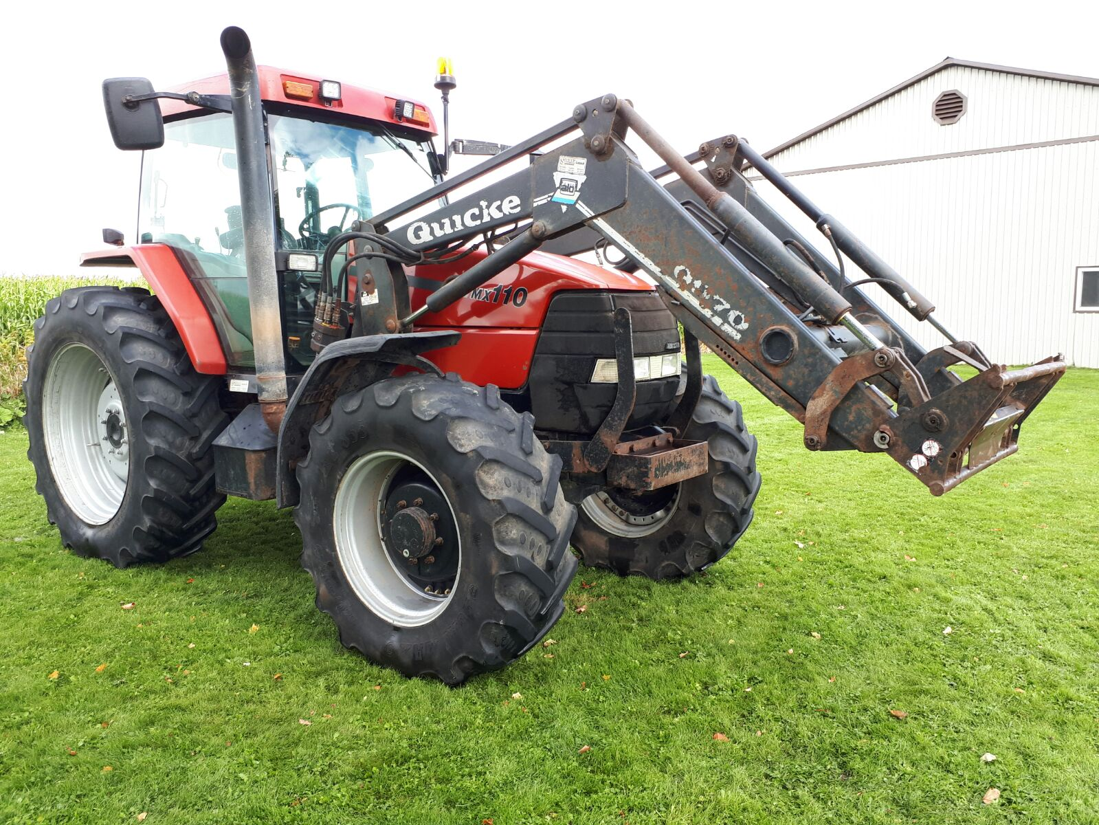 Case Tractor Mx110 : Case ih mx tractor maple lane farm service