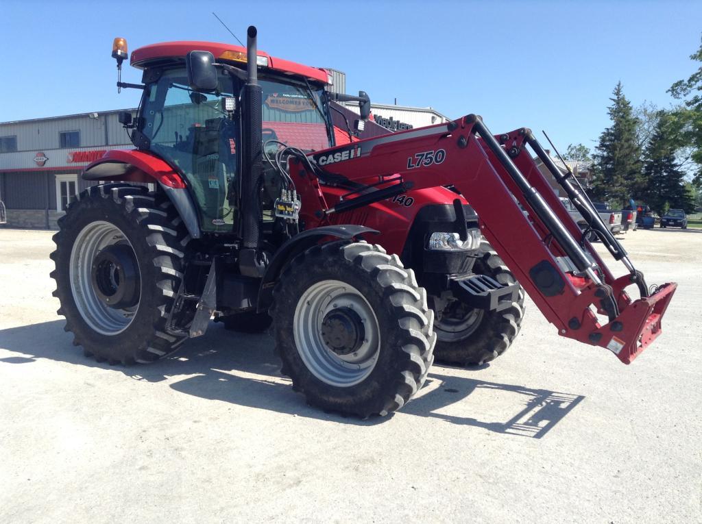 2008 case ih puma 140 pro – tractor | maple lane farm service