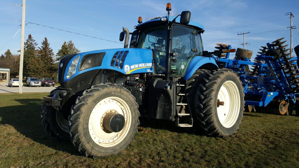 2011 New Holland T8.390 - Tractor