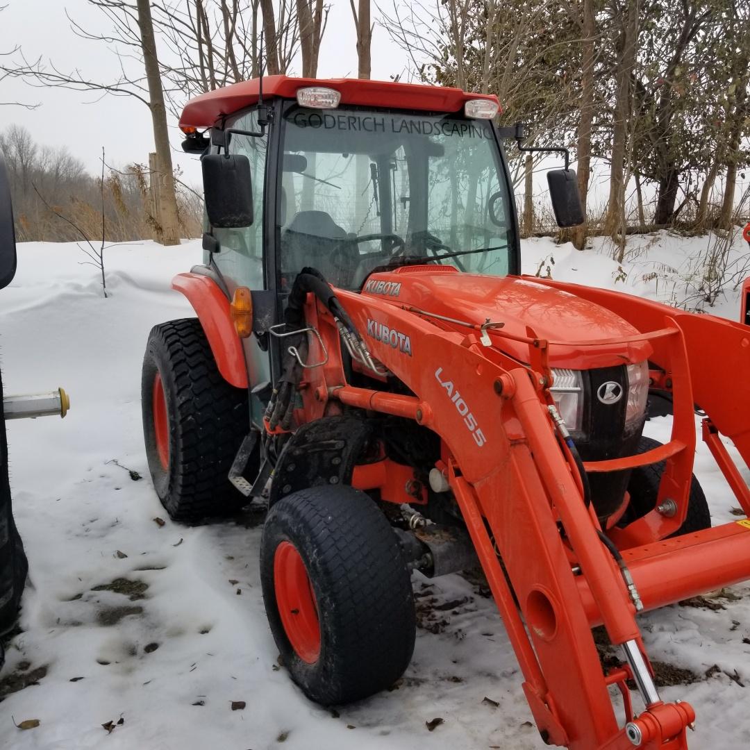 Kubota L6060 - Tractor