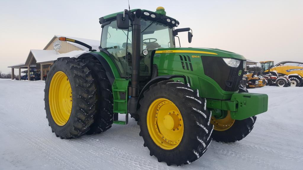2015 John Deere 6190R - Tractor