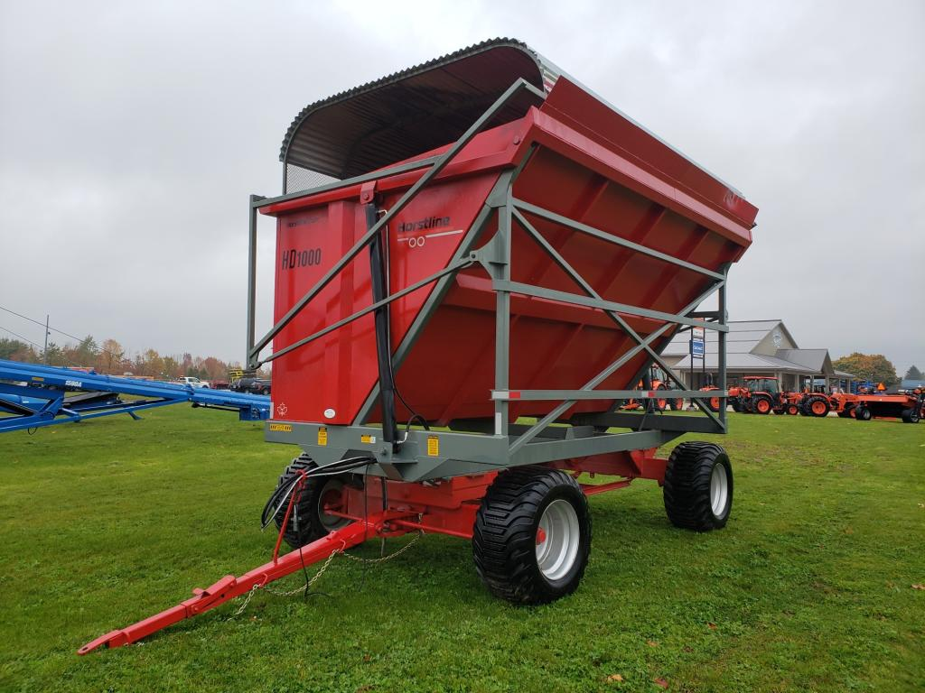 Horst Wagons HD1000 - Wagon - Hi Dump