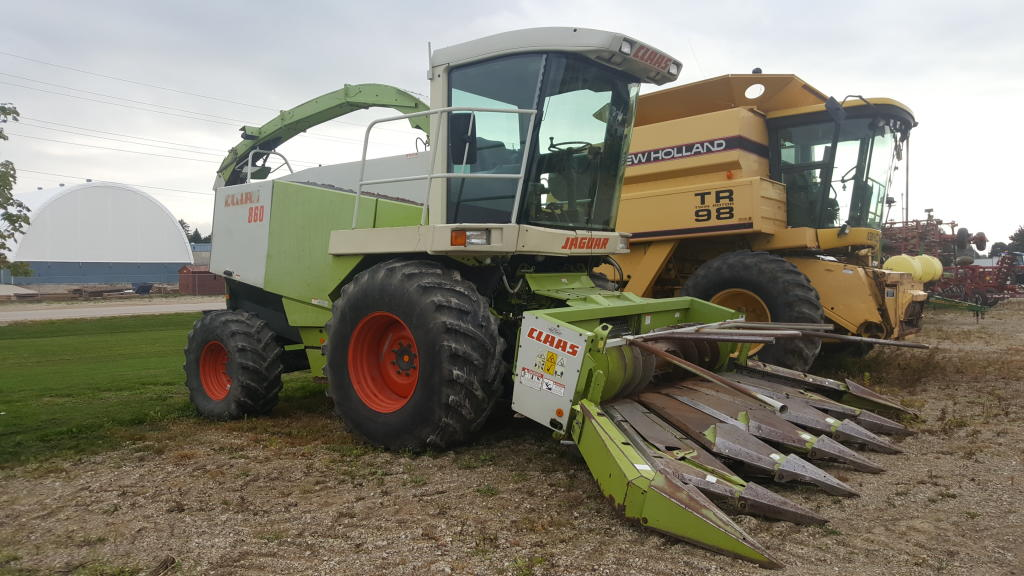 2002 Claas JAGUAR 860 - Harvester - Self Propelled