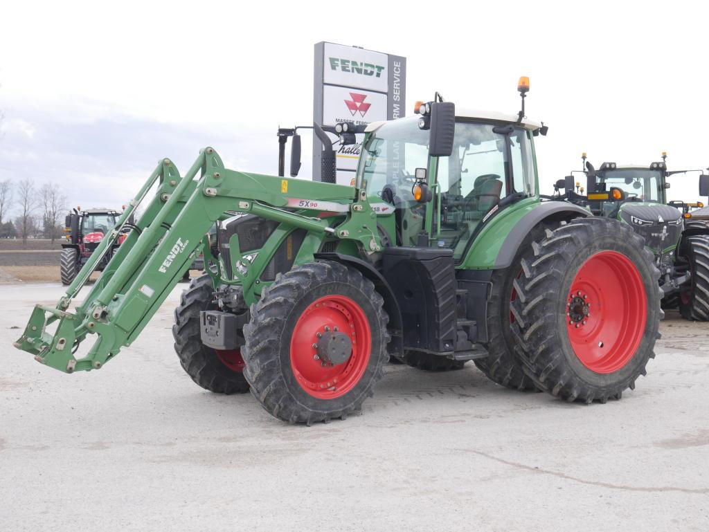 2015 Fendt 718 - Tractor