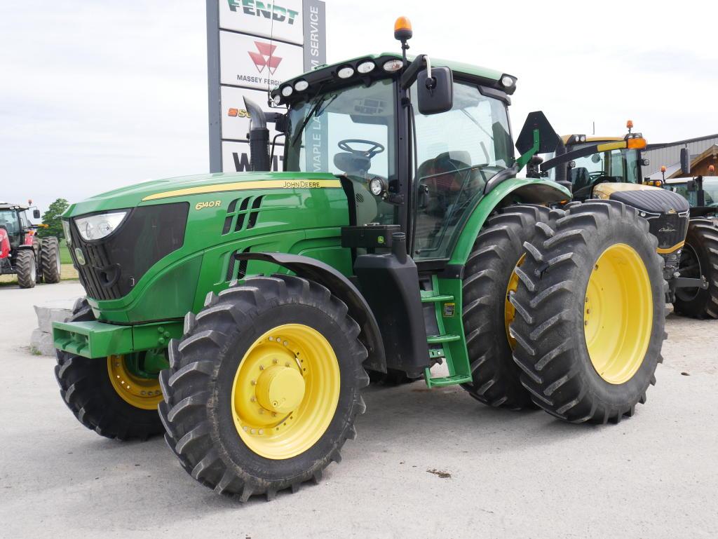 2013 John Deere 6140R - Tractor