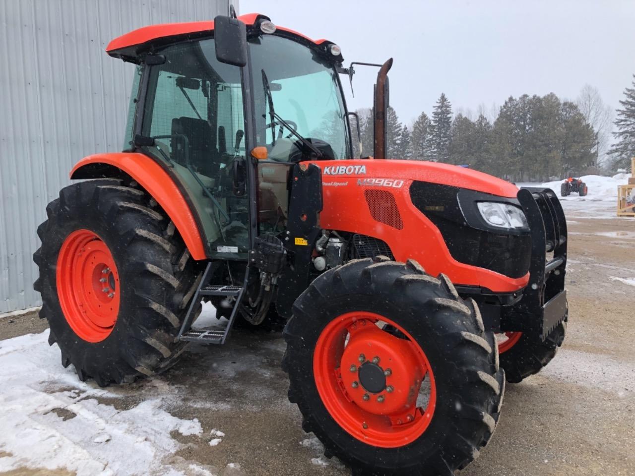 2013 Kubota M9960HDCC - Tractor