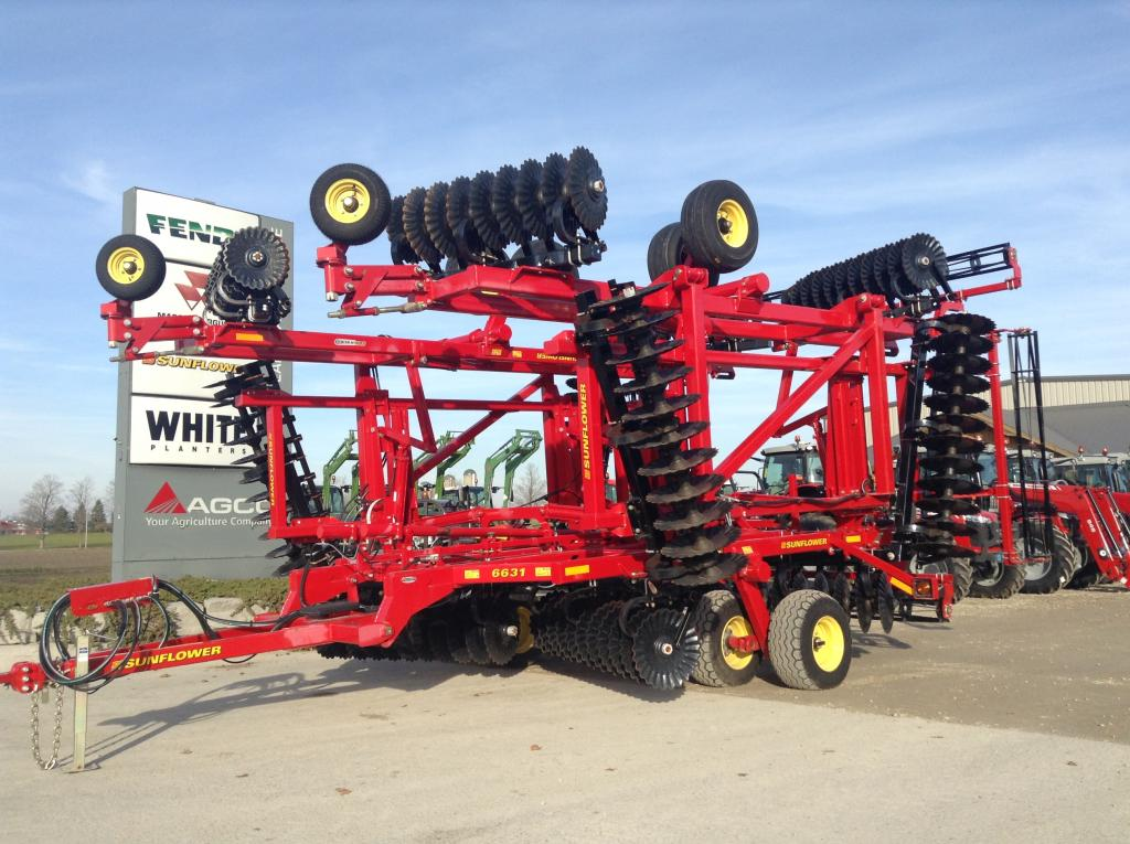 2014 Sunflower 6631-40 - Vertical Tillage