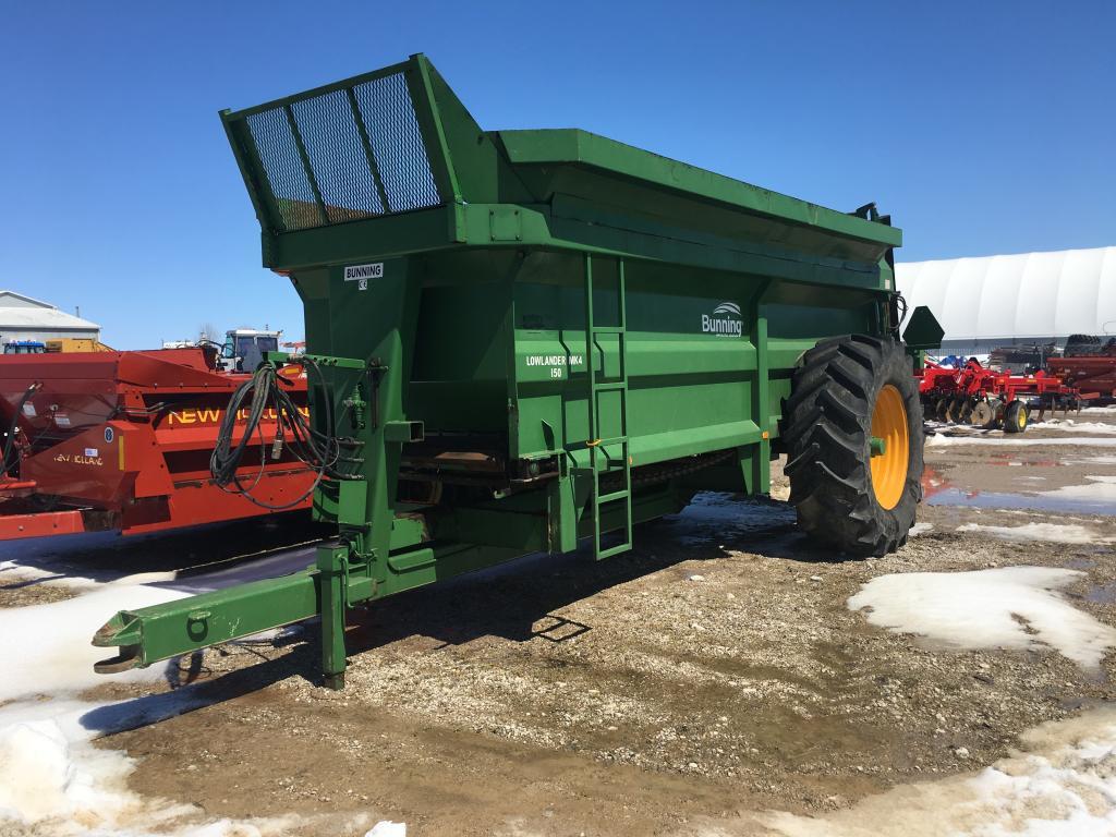 Bunning 150 - Spreader - Dry Manure
