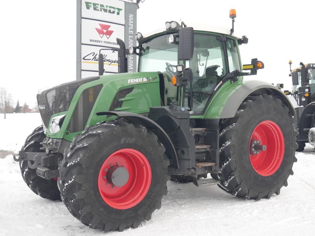 2015 Fendt 822 - Tractor