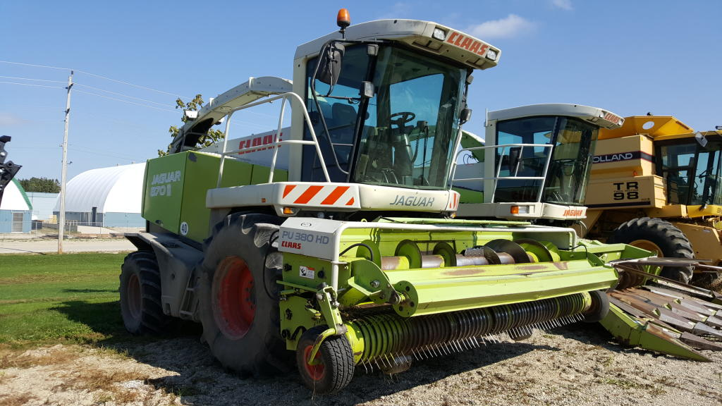 2004 Claas 870 - Harvester - Self Propelled