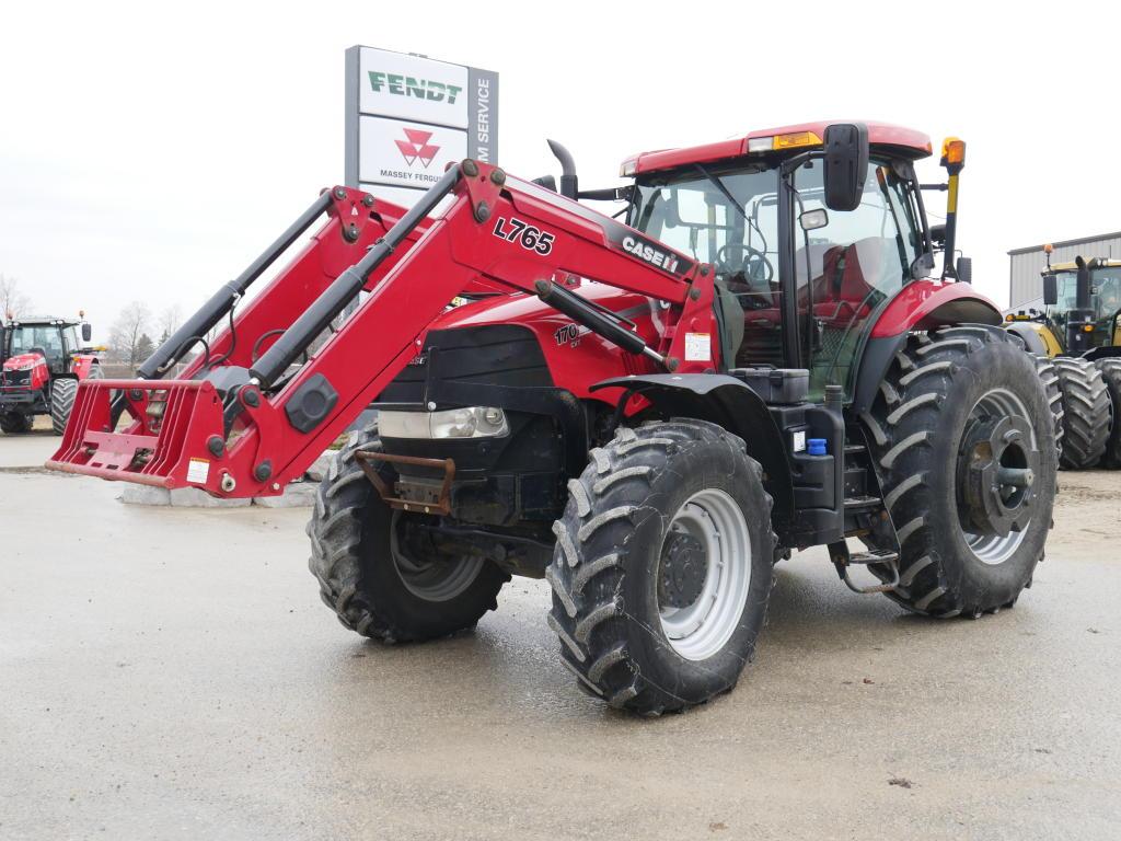 2014 Case IH Puma 170 CVT - Tractor