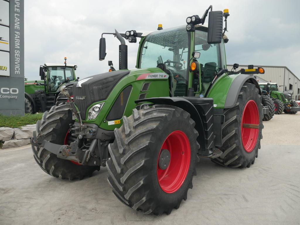 2018 Fendt 718 - Tractor