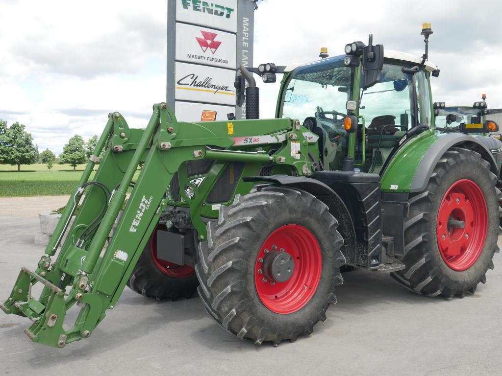 2018 Fendt 720 - Tractor
